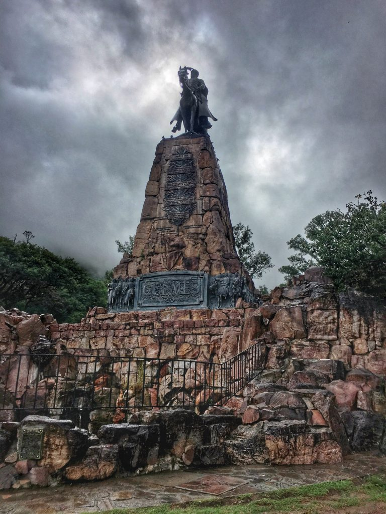 General Güemes monument in Salta, Argentina