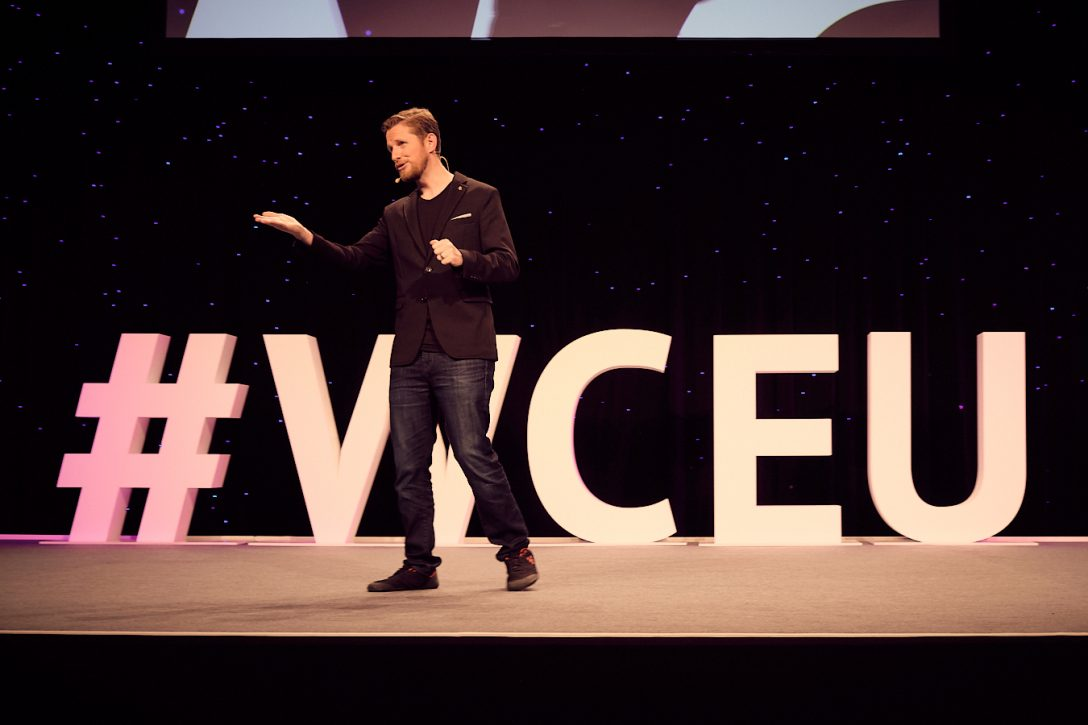 Matt Mullenweg at WCEU 2019